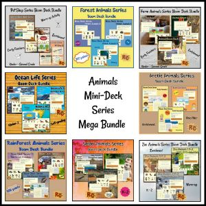 Image link to Mega Bundle for Animal Mini Decks
