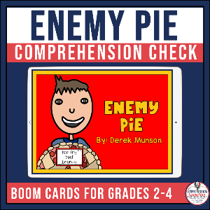 Mentor texts are very helpful for modeling with think aloud the process we as teachers use as we read. This post focuses on strategies for making predictions using Enemy Pie.